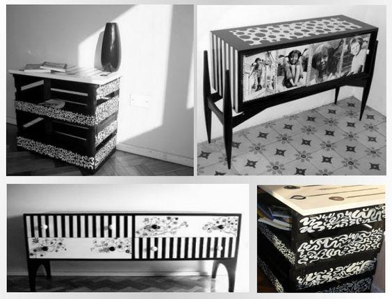 Идеи за декупаж на мебели