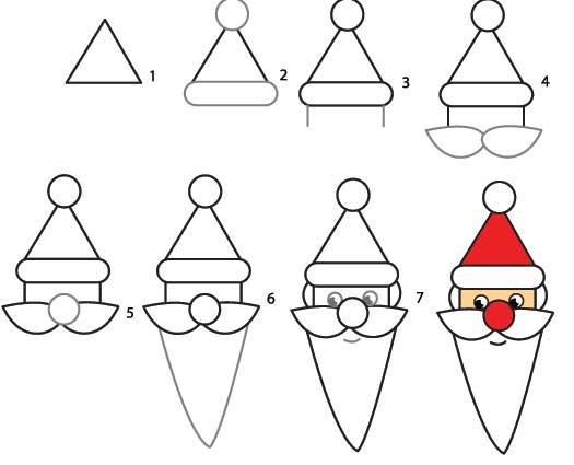 Рисунка на дядо Коледа