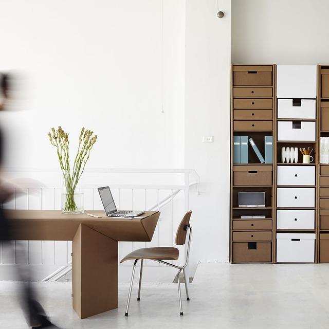 Мебели от картон