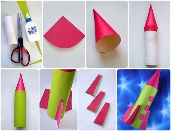 ракета от хартия