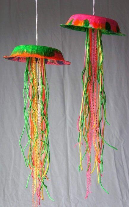 медуза от картон