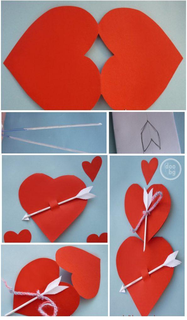 Валентинка от хартия