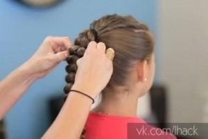 как се сплита коса