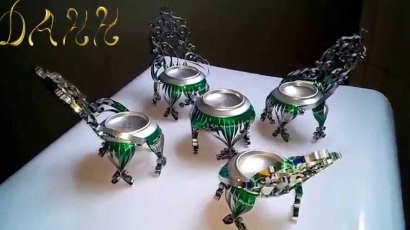 столчета от бирени кенчета
