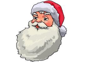 Как да нарисуваме Дядо Коледа