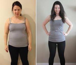 Преди и след отслабване
