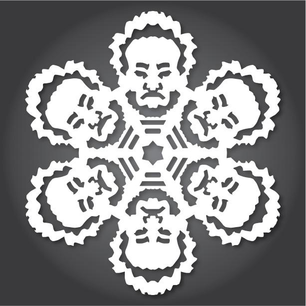 снежинки за изрязване стар уърс