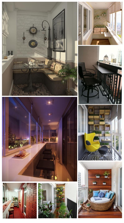 Идеи за малки балкони и тераси