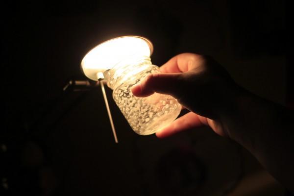 светещи буркани