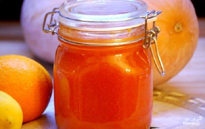 Сладко от тиква и портокал