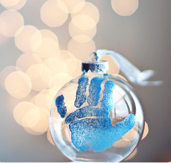 Коледна украса от вашето дете