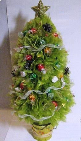 Коледна елха от бонбони