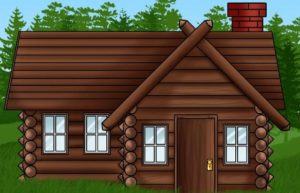 как се рисува къща