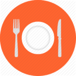 dinner_serving_restaurant_serve_flat_design_icon-512