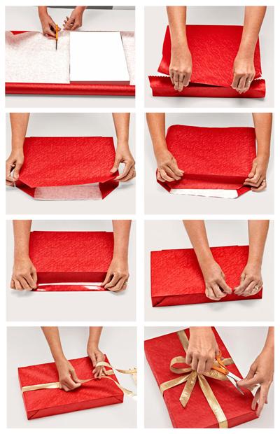 Как се опакова подарък