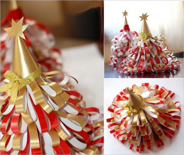 Коледна елха от хартия