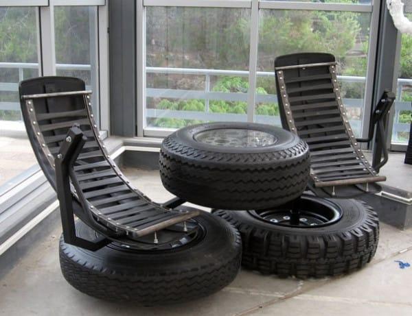 Идеи за дома от автомобилни гуми