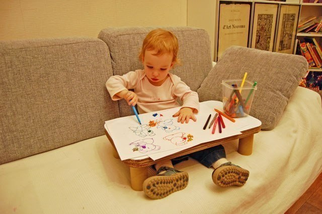 Как да си направим детска масичка