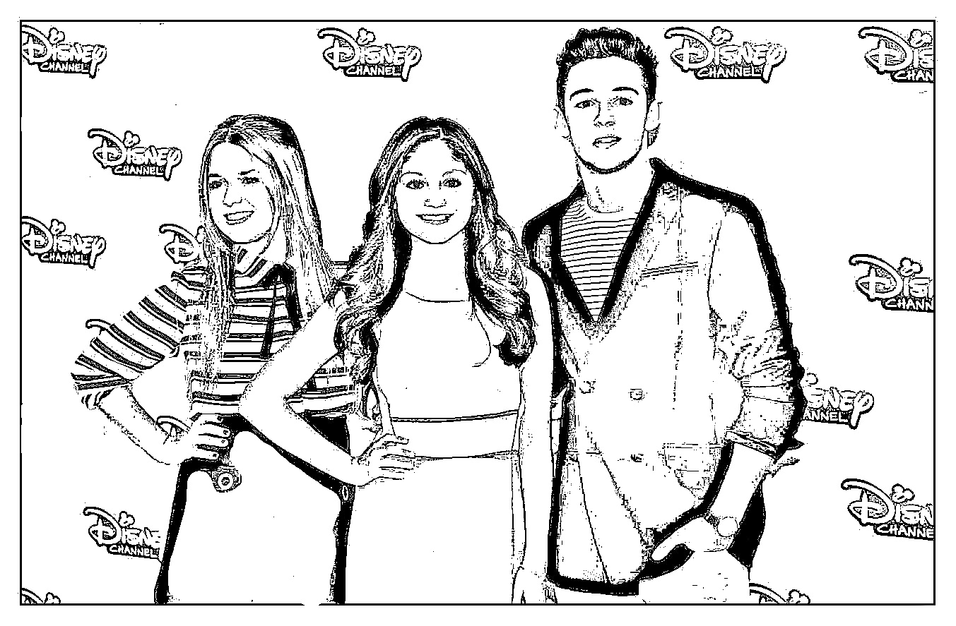 Soy luna coloring pages