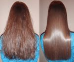 Как да изправим косата