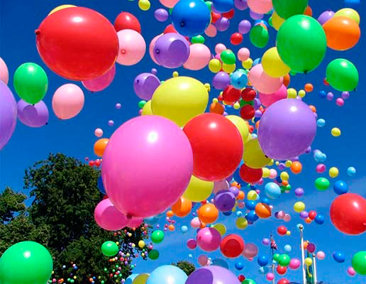 Как се прави хелиев балон