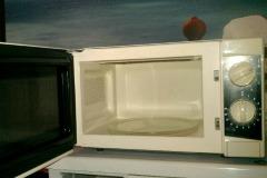 Как да почистим микровълнова печка