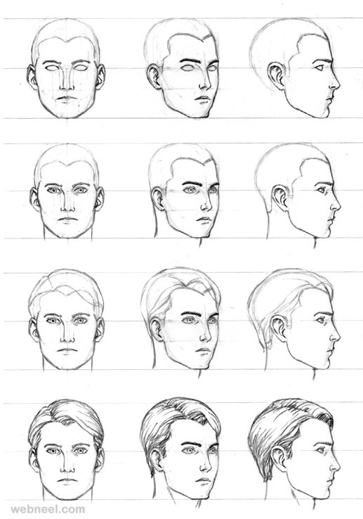 Man S Face Line Drawing : Как се рисува лице НАРЪЧНИК КАРТИЧКИ МОДА РЕЦЕПТИ СЪВЕТИ