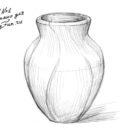 Как се рисува ваза