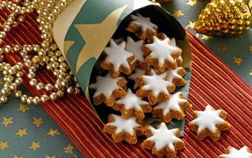 Коледни медени бисквитки