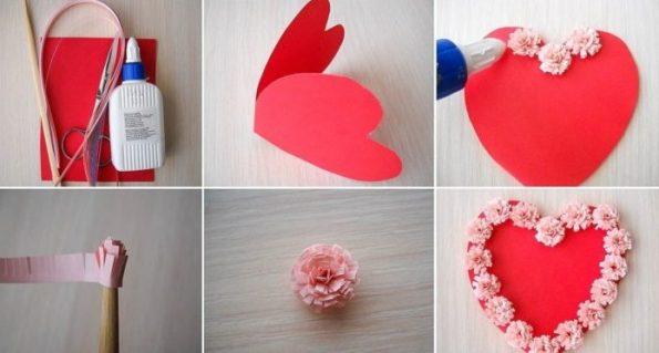 Как се прави валентинка