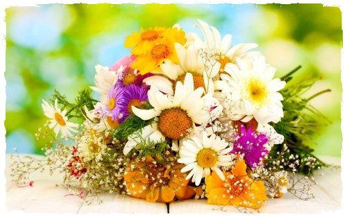 картинки за рожден ден с цветя